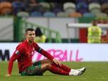 Potret Bintang Sepak Bola Cristiano Ronaldo Positif Corona