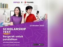 Dukung Belajar Online, Zenius & Telkomsel Teruskan Kerja Sama