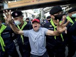 Penampakan Massa Menyemut di Bangkok, Desak PM Prayuth Resign