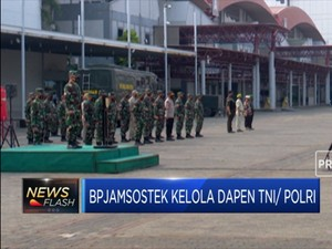 BPJamsostek Kelola Dapen TNI/Polri