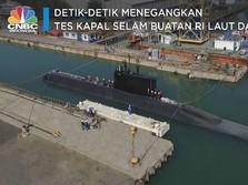 Detik-Detik Menegangkan Uji Kapal Selam RI di Kedalaman 300 M
