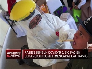 Kabar Gembira! 5.810 Pasien Sembuh Covid-19 di Indonesia