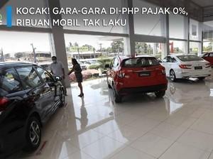 Kocak! Gara-Gara Di-PHP Pajak 0%, Ribuan Mobil Baru Tak Laku