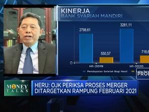 Merger, OJK: Aset Bank Syariah BUMN Capai RP 214 T