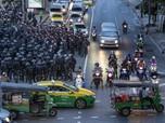 Bangkok Status Darurat Parah, Polisi Thailand Bubarkan Demo