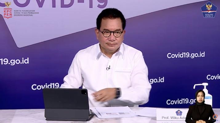 Wiku Adisasmito, Koordinator Tim Pakar dan Juru Bicara Pemerintah Untuk Penanganan Covid-19 (BNPB Indonesia)