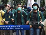 Aliansi BEM SI Kembali Gelar Demo Tolak UU Ciptaker