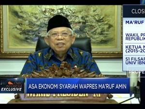 Asa Ekonomi Syariah Wapres Ma'ruf Amin