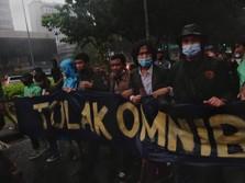 Hari ini, Massa Mahasiswa Hingga Buruh Demo Tolak Omnibus Law