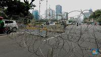 Potret Pengamanan Ketat Kawasan Istana Sambut Demo Mahasiswa