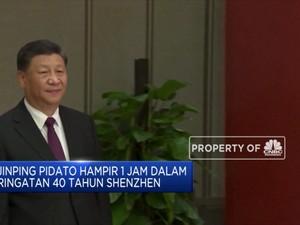 Presiden China Xi Jinping Dikabarkan Batuk Saat Berpidato