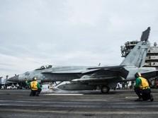 Penampakan USS Ronald Reagan di Perairan Laut China Selatan