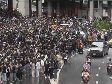 Demo di Thailand Memanas, Aparat Ambil Langkah Tegas