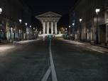 Sepi Banget, Ini Penampakan Jam Malam di Prancis Efek Corona