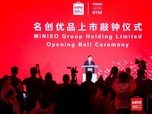 Top! Miniso IPO di Wall Street, Bosnya Jadi Crazy Rich Dunia