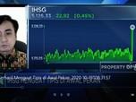 IHSG Berhasil Menguat Tipis di Awal Pekan
