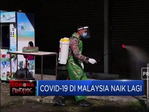 Alert! Kasus Covid-19 di Malaysia Naik Lagi