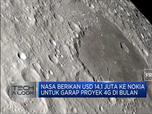 Jaringan 4G akan Tersedia di Bulan