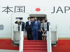 Perdana, PM Jepang Yoshihide Suga Resmi Kunjungi RI