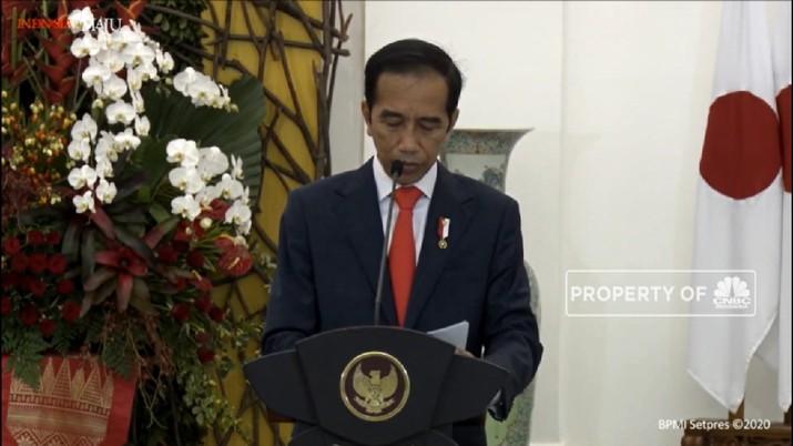 Pertemuan Jokowi-Yoshihide Suga, Bahas Soal Covid-19 Hingga LCS (CNBC TV )