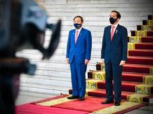 Di Depan PM Suga, Jokowi Happy Soal Relokasi Pabrik Jepang