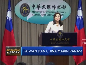 Taiwan Dan China Makin Panas!