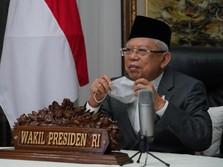 Wapres Ma'ruf Amin Sudah Siap Divaksin Nih, Tapi.....