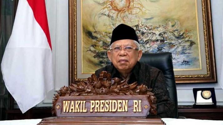 Wakil Presiden (Wapres)  Ma'ruf Amin (Dok. Setwapres)