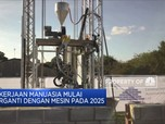 Pekerjaan Manusia Mulai  Tergantikan Mesin Pada 2025