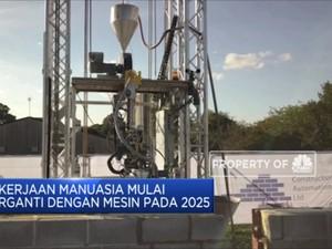 Pekerjaan Manuasia Mulai  Terganti Dengan Mesin Pada 2025