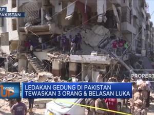 Ledakan Gedung Di Pakistan Tewaskan 3 Orang & Belasan Luka