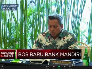 Darmawan Junaidi Resmi Jabat Dirut Bank Mandiri