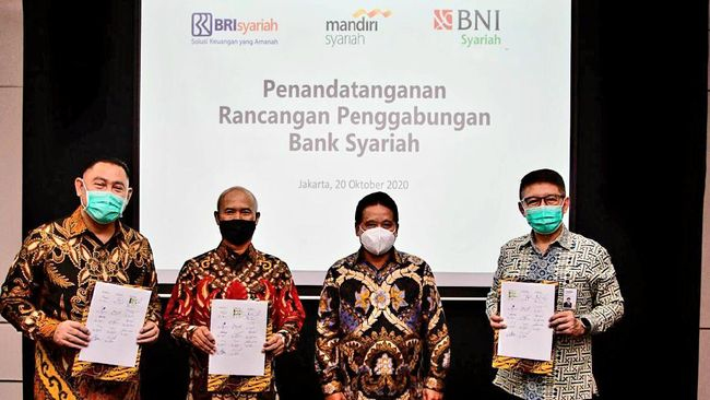 Mega Merger Bank Syariah BUMN, Tak Ada Tender Offe