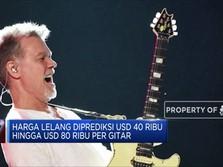 Gitar Legendaris Mendiang Van Halen akan Dilelang!
