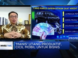 Icip 'Manis' Utang Produktif Cicil Mobil Untuk Bisnis