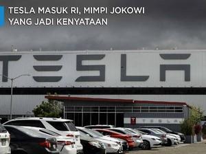 Tesla Bakal Bangun Pabrik di RI, Mimpi Jokowi Jadi Kenyataan