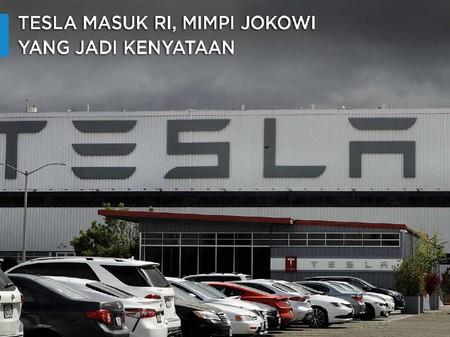 Sederet Alasan Kenapa Tesla Mau Bangun Pabrik Di Ri
