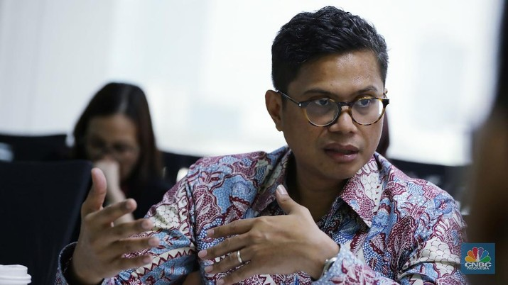 Pahala Mansury (CNBC Indonesia/Muhammad Sabki)