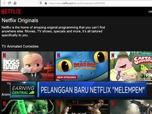 Pelanggan Baru Netflix