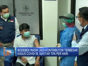 Jawa Barat Minta Bodebek Jadi  Prioritas Vaksinasi Covid-19