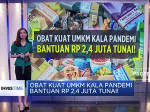 Obat Kuat UMKM Kala Pandemi, Bantuan Rp 2,4 Juta Tunai!