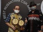 PT Pertamina Lubricants Kembali Raih Nusantara CSR Award 2020