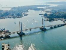 Sederet Fakta Jembatan Terpanjang RI yang Dieksekusi Jokowi