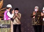 Jokowi Resmikan Pabrik Gula Milik Crazy Rich Haji Isam