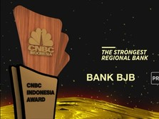 Bank BJB Raih Penghargaan The Strongest Regional Bank