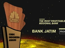 Bank Jatim Raih Penghargaan The Most Profitable Regional Bank