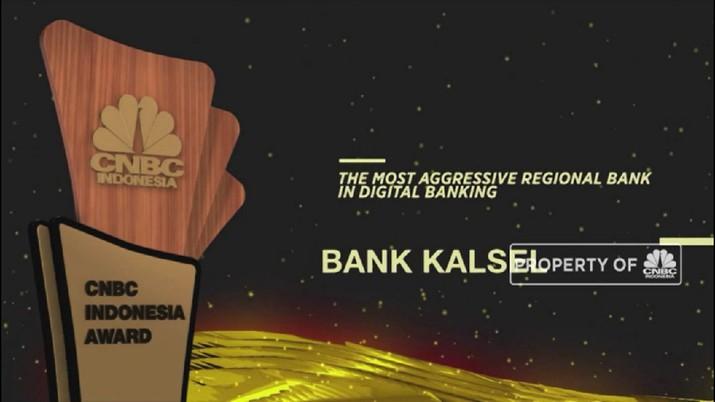 Bank Kalsel Menjadi The Most Aggressive Bank In Digital Banking(CNBC Indonesia TV)