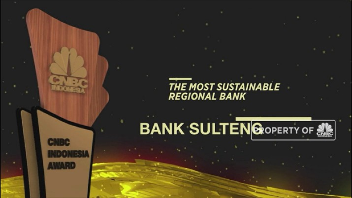 Bank Sulteng Raih Penghargaan The Most Sustainable Regional Bank(CNBC Indonesia TV)