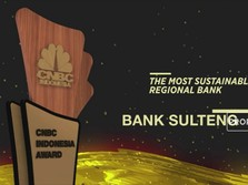 Bank Sulteng Raih The Most Sustainable Regional Bank