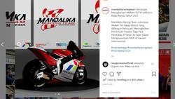Ini Desain Livery Motor MotoGP Indonesia, Ada Logo Pertamina dan Pegadaian